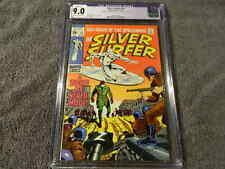 1969 MARVEL Comics SILVER SURFER #10 - STAN LEE Story - Stunning - CGC 9.0