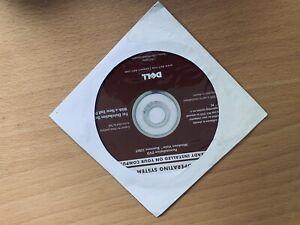 Dell Windows Vista Business 32 Bit Reinstallation DVD, New