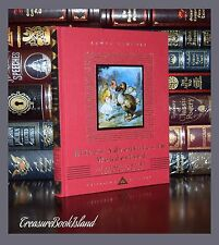 Alice in Wonderland & Looking Glass by Carroll New Ribbon Deluxe Hardcover Gift