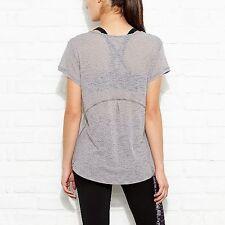 LUCY Lightweight T-Shirt Tee Short-Sleeve Sz S Girls Best Friend Burnout Top