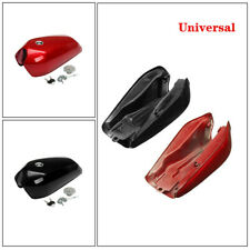 9L/2.4 Gal Universal Motorcycle Cafe Racer Vintage Fuel Gas Tank Fit Cap Switch