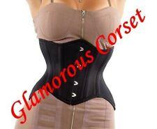 "Short Corset Curvy Steel Boned Underbust for Waist Training Size 18-40"""