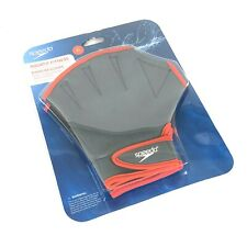 Speedo Fit Aquatic Fitness Gloves - Red, X-Large