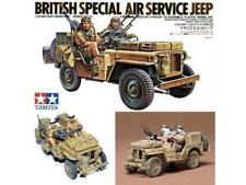 Tamiya 35033 British Special Air Service Jeep Kit 1 35