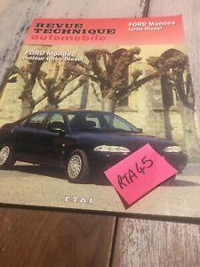 Revisión Automoción Ford Mondeo Turbo Diésel RTA