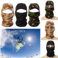 3D Balaclava Full Face Mask Tactical Camo Headgear for Hunting Skiing Cycling