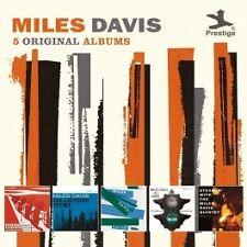 MILES DAVIS 5CD BRAND NEW And Horns/Collectors' Items/Blue Haze/Walkin'/Steamin'