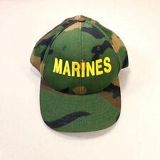 U.S. Marines Hat Cap Military Baseball Camo Official Military Headwear US Made
