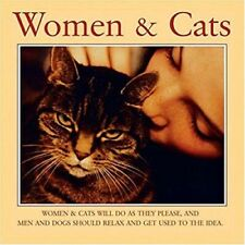 """""""Women And Cats"""" Perfect Gift Book for Cat Lover! New Christmas Stocking Stuffer"""