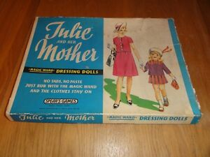 vintage Julie and her Mother magic wand dressing up  Game