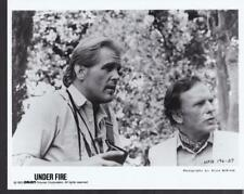 Nick Nolte and Jean-Louis Trintignant Under Fire 1983 vintage movie photo 34523