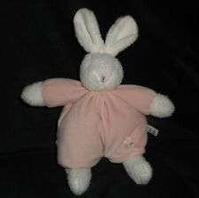 """12"""" BUNNIES BY THE BAY PINK BLOSSOM BABY BUNNY RABBIT STUFFED ANIMAL PLUSH TOY"""