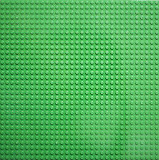 TOYBRICK BUILDING BOARD - GREEN BASE PLATE 32X32 STUDS BASEPLATE LEGO COMPATIBLE