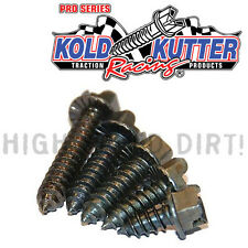 3/8 .375 1000 PACK KOLD KUTTER RACING TRACK TIRE ICE STUDS/SCREWS MOTORYCLE SNOW