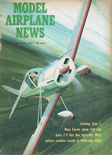 MODEL AIRPLANE NEWS DEC 1967 BELL XFL-1 AIRABONITA_GEE BEE SPORTSTER RACER Featu