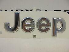 02-04 Jeep Liberty New 3D Chrome Rear Decal Emblem Nameplate Mopar Factory Oem