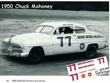 CD_949 #77 Chuck Mahoney  NASCAR 1950 Mercury   1:64 Scale Decals