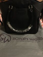 "Sarah Wells ""Annie"" Breast Pump Bag (Black)"