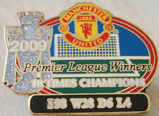 MANCHESTER UNITED Victory Pins 2009 PREMIER LEAGUE CHAMPIONS Badge Danbury Mint