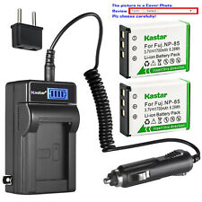 Kastar Battery LCD AC Charger for NP170 Sony 2700X HDV-CX3800E HDVCX1800E Camera