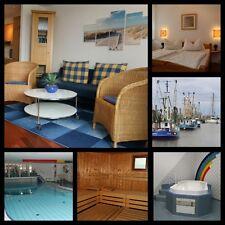 Angebot 1 Woche Urlaub Ferienwohnung Nordsee Sauna / Schwimmbad Dorum mit Hund