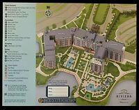 NEW 2021 Walt Disney World Riveria Resort Map + 4 Theme Park Guide Maps