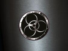 1 x adhesivo cárnica 016 radiactivo Radioactive Biohazard sticker Shocker