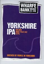 WHARFE BANK BREWERY (POOL IN WHARFEDALE) - YORKSHIRE IPA - PUMP CLIP FRONT