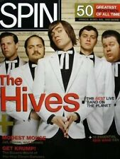 The HIVES 2004 tyrannosaurus SPIN mag cover poster New Old Stock Mint Condition