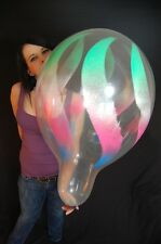 "3 x Qualatex 18"" Weithalsballons SPRAY (VERPACKUNGSBALLON*GEBURTSTAG)"