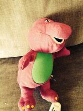 Barney Purple Dinosaur 20 Years Talking Light Up Child'S Character Toy T Rex