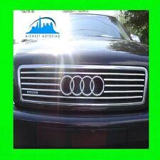 1997-2003 Audi A8 Garniture Chrome pour Supérieur Grille W/5YR Garantie D2