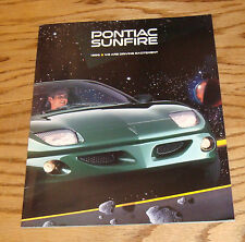 Original 1996 Pontiac Sunfire Sales Brochure 96