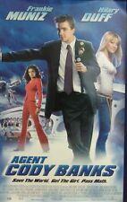 Agent Cody Banks Original Single Sided Movie Poster Frankie Muniz Hilary Duff