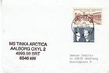 Danish Research Ship Ms Tinka Arctica A Ships Cached Plain Back Card