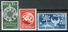 Norway 1949, UPU Set MNH Sc 299-301