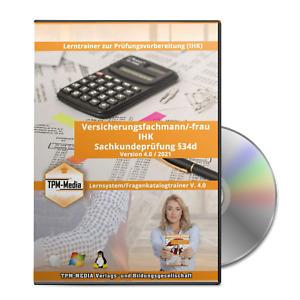Lerntrainer Versicherungsfachmann/-frau §34d(IHK) (WIN/MAC-OS/Linux)