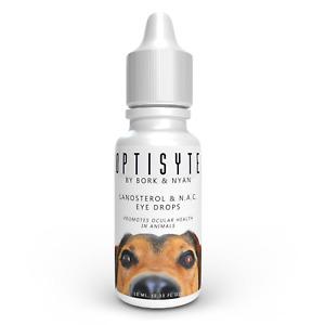 Optisyte Lanosterol & NAC Eye Drops Promotes Eye Clarity in Pets w/ Cataracts