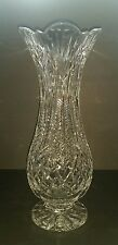 RARE Waterford Crystal Bluebell 14 Inch Footed Vase  Designer Gallery Collection