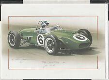 JIM CLARK LOTUS CLIMAX 18 PAU GP 1961 NEW ART PRINT GREETING GIFT BIRTHDAY CARD