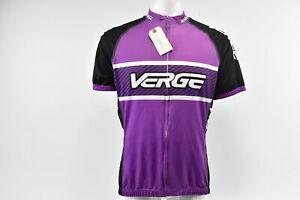Verge Women's Elite Sport S/S Cycling Jersey, Purple/Black, 2XL, NOS