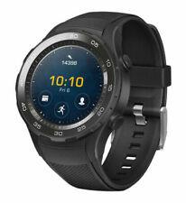 Huawei Watch 2 45mm Schwarz Kunststoff Gehäuse Schwarz Sportarmband (55021679)