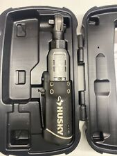 Husky 3/8 in. 12-Volt Battery Cordless Ratchet Driver Powered Torque Repair Tool