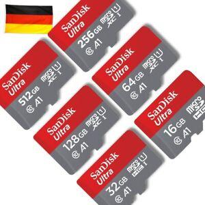 SanDisk Ultra 98/100mb/s micro SD 16 - 512GB in OVP
