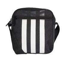 Adidas 3 Stripes Organizer Bag Casual Unisex Backpack Travel Black NWT FL1750