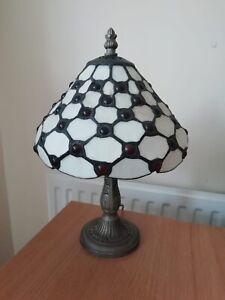 Art Deco tiffany glass table lamp