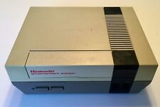 Nintendo 1985 Entertainment System Console Very Good Vintage With Controllers