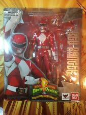 S.H. Figuarts Ban Dai RED RANGER Mighty Morphin Power Rangers no sword used sh