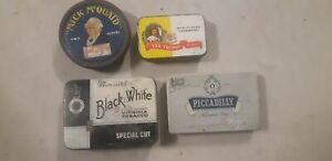 tobacco tins vintage