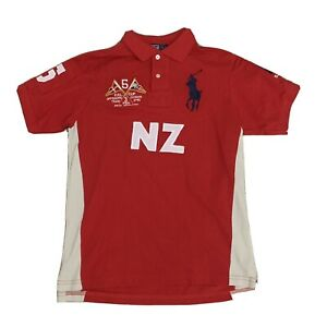 NWT Polo Ralph Lauren Big Pony Crest New Zealand Polo Shirt Size Small Mens